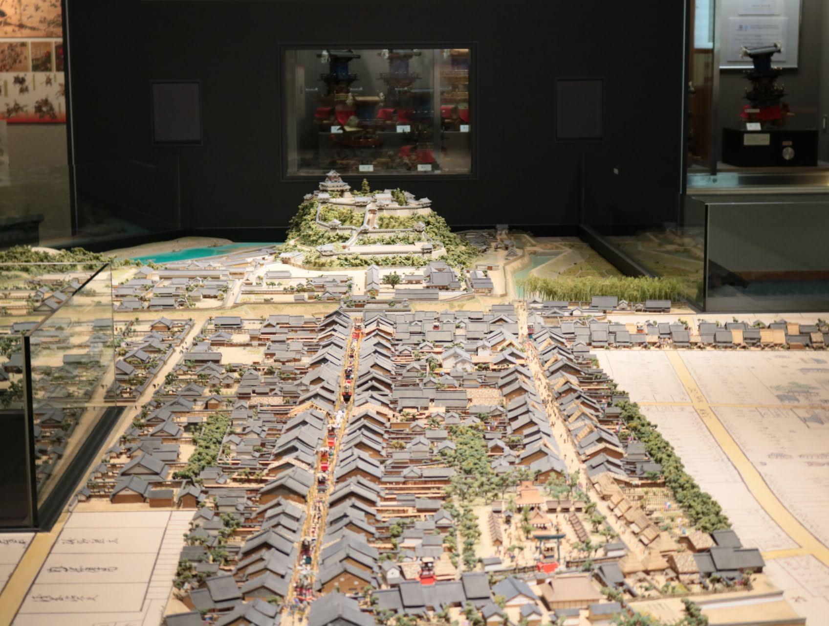 城と街ミュージアム展示物
